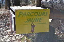 JoncasAventure parcours accrobranche jaune